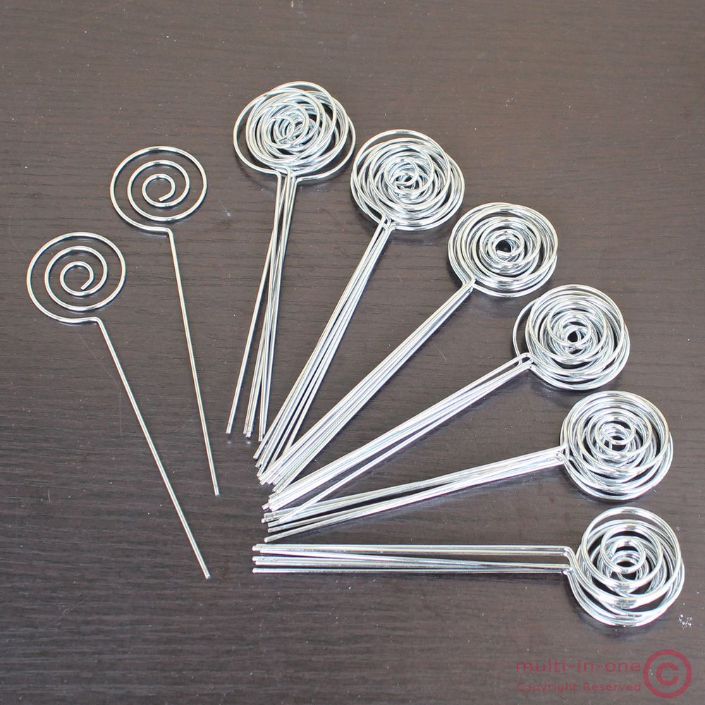 lot 50pcs DIY ring loop circle shape craft wire ...