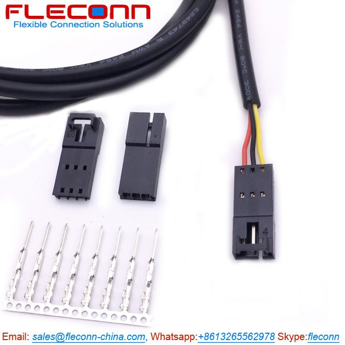 Molex 701070002 SL 3 Pin Male Connector Wire Harness
