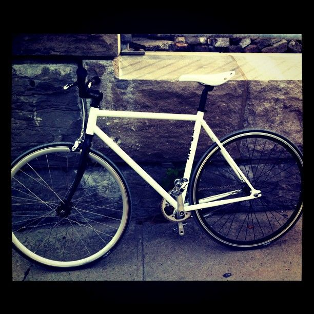 Got my new #bike and first ever #fixie today, took it out for its inaugural first ride.