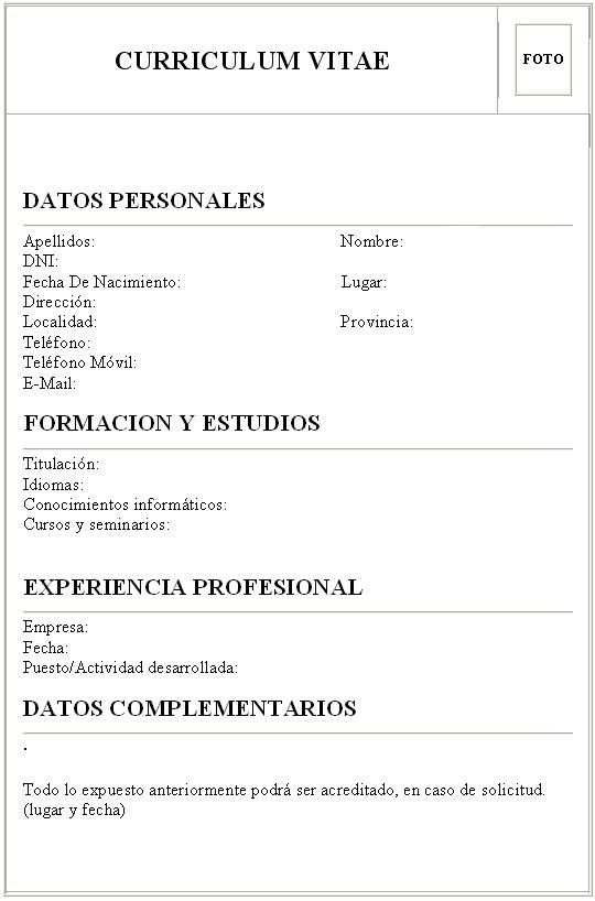 Curriculum Vitae - Schnazzy name for RESUME. Looking to impress? Ask ...