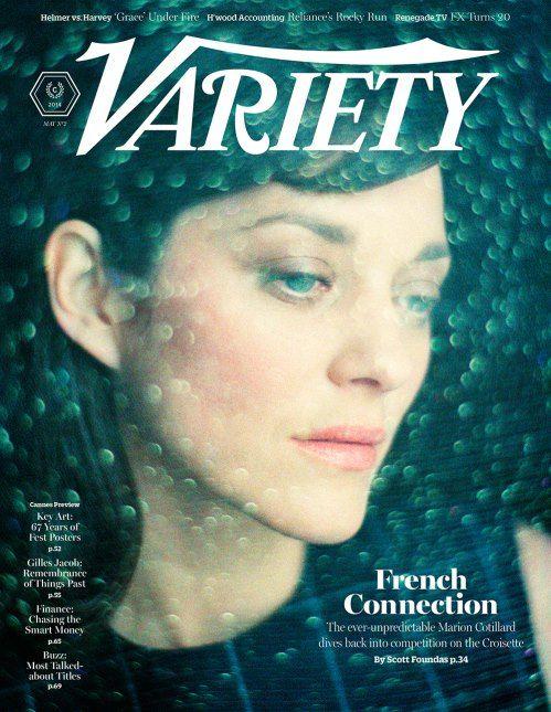 Variety Magazine - Maio/2014 - Marion Cotillard
