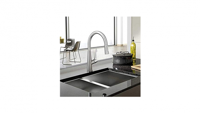 hansgrohe talis m pull down kitchen