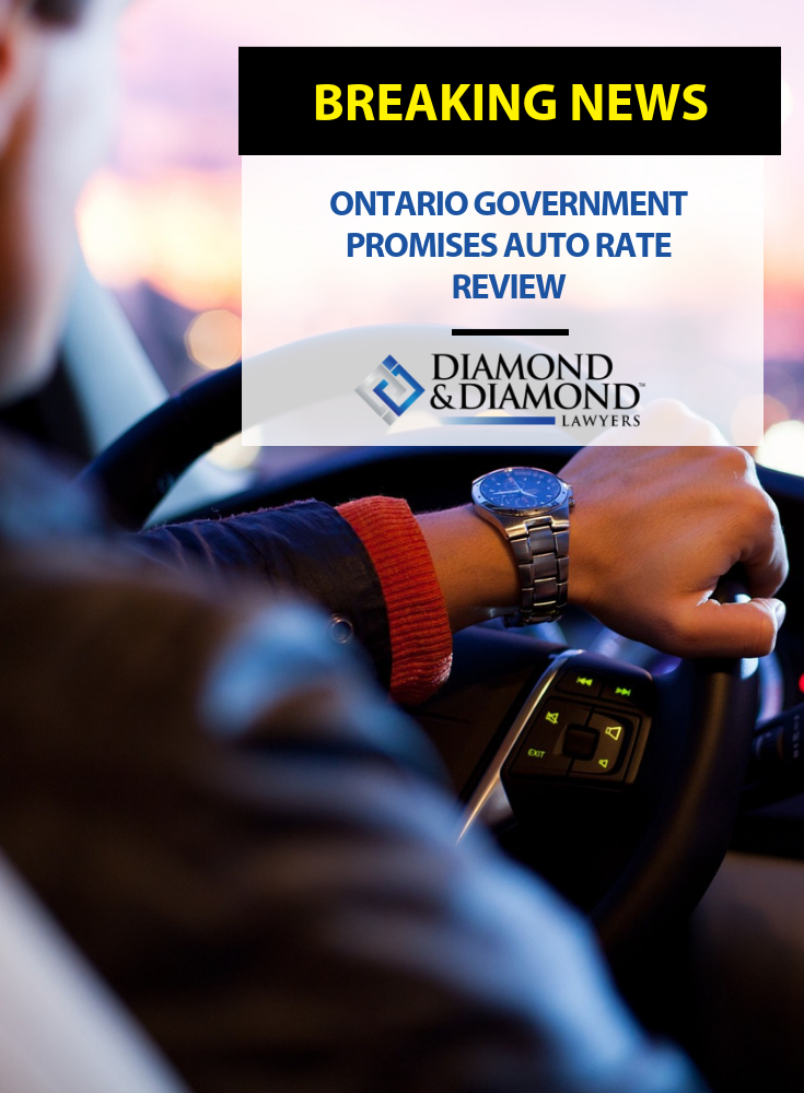 Ontario government promises auto rate review Ontario
