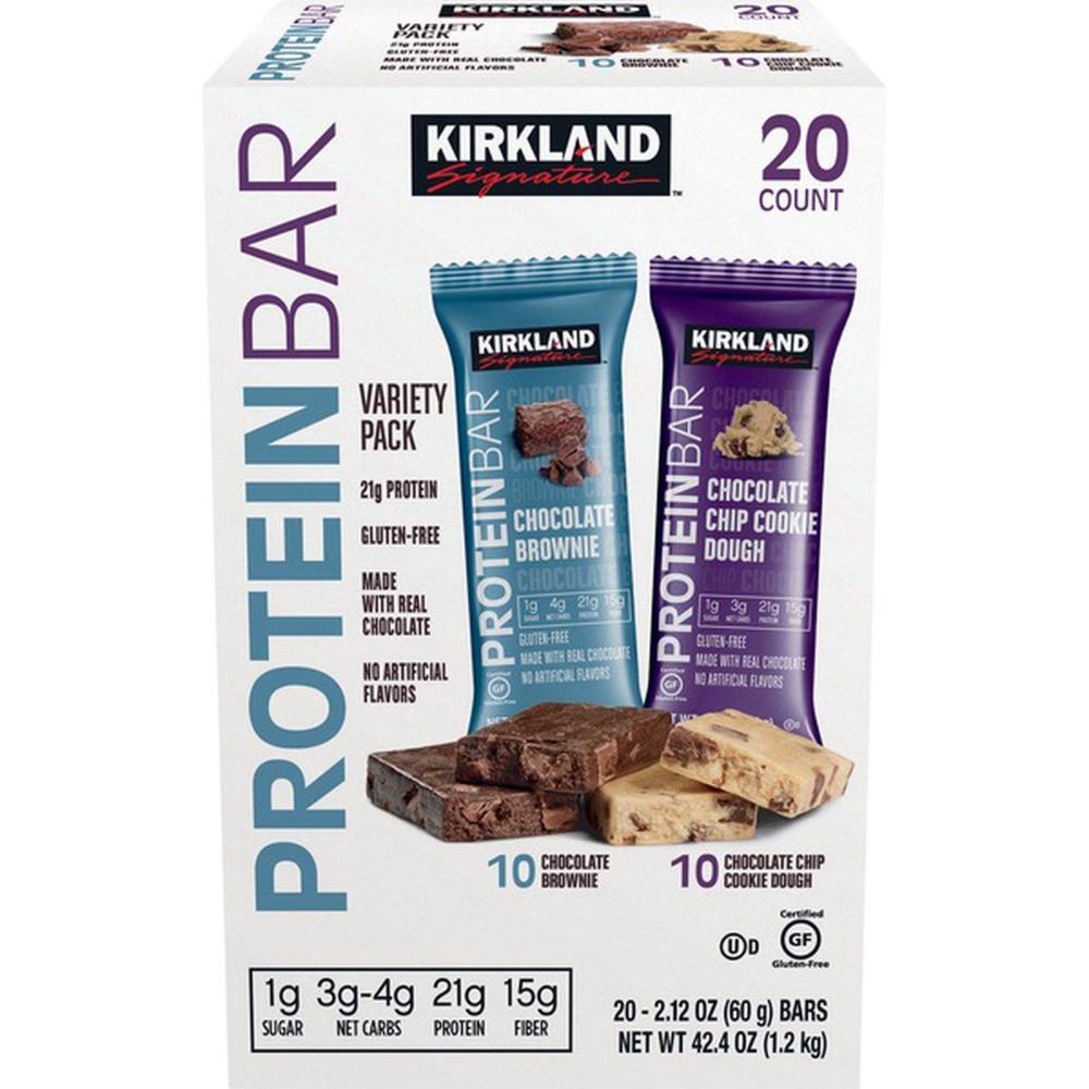 Kirkland Signature Variety Pack Protein Bar Low sugar