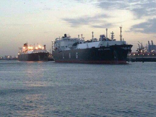 LNG tankers #Nijlhaven #Rotterdam