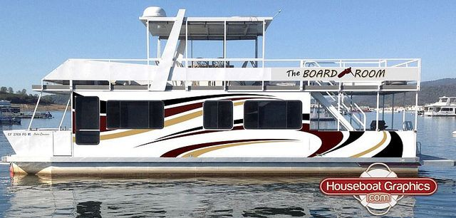Houseboatgraphicsdesignboatnamedecals Boating Graphics And - Custom designed houseboat graphics