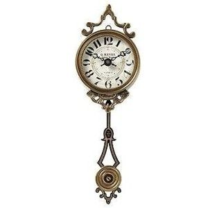 decorative small gold wall clocks small clock Petite Brass