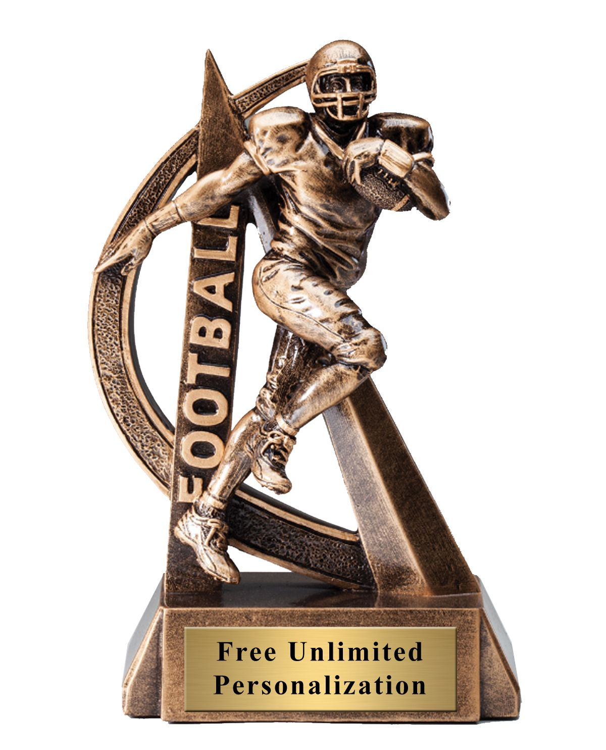 Ultra Action Football Trophy (With images)   Football ...