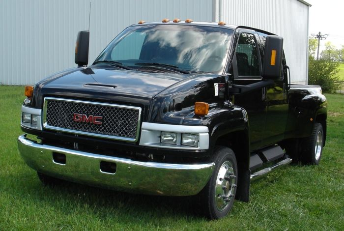 Gmc Chevy C4500 Kodiak Topkick Medium Duty Truck Chevy Gmc