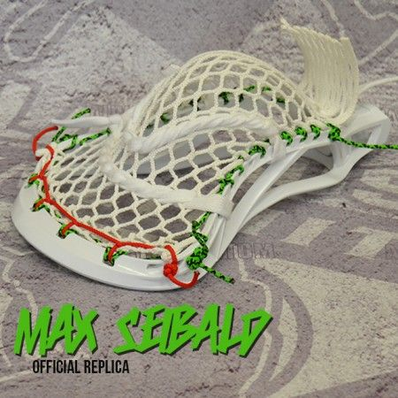 Featured Stick Max Seibald Replica Lacrosse Head Lacrosse Mens Lacrosse Lacrosse Sticks