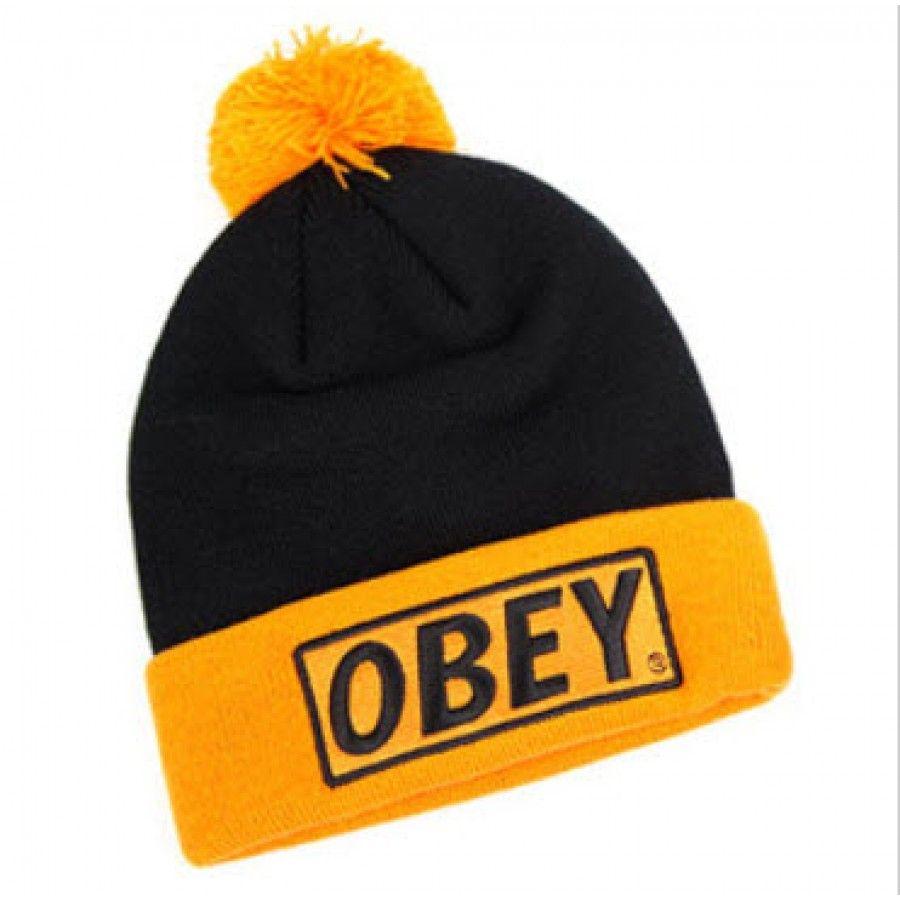 Black And Yellow Beanie Hats 8246dcd07c3