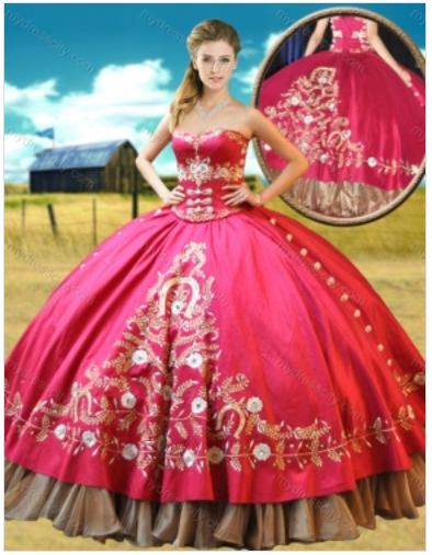 7ac34acc1c Quinceanera Dress   QSXFQD1070 - Quinceanera Style