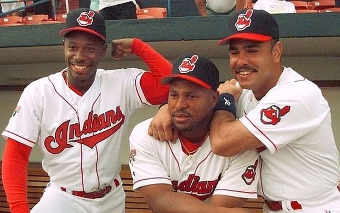 Kenny Lofton Albert Belle Carlos Baerga Cleveland Indians Cleveland Indians Baseball Cleveland Baseball