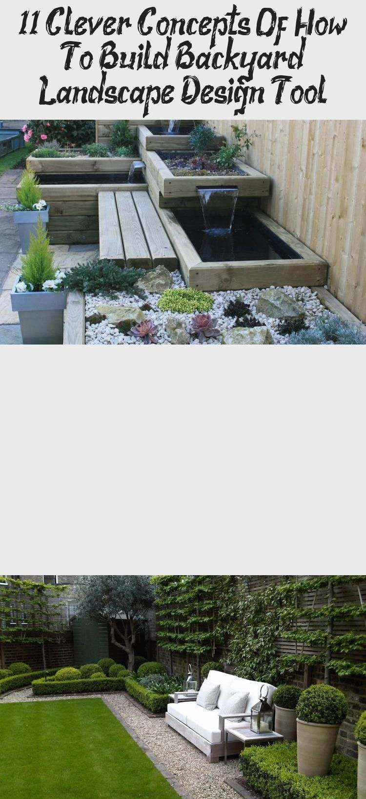 11 Clever Concepts Of How To Build Backyard Landscape Design Tool Homemakeover Smallgardencheap Smallgardenborders Smallgardenpergo Garden Design Software Backyard Landscaping Landscape Design Software