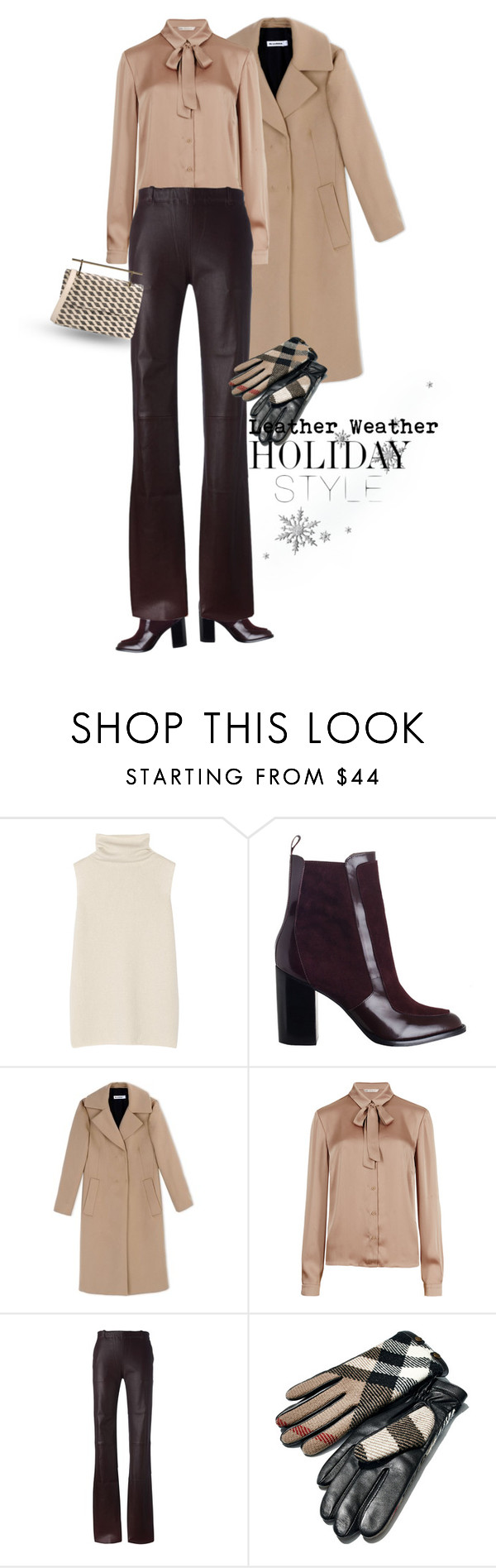 """Untitled #299"" by taz7568 ❤ liked on Polyvore featuring The Row, Zimmermann, Jil Sander, M&S Collection, STOULS, Burberry, M2Malletier and holidaystyle"