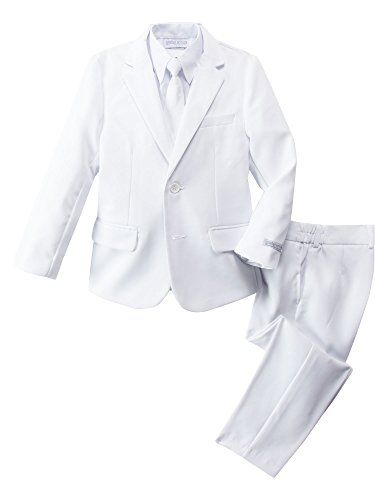 Spring Notion Little Boys' Modern Fit Dress Suit Set 2T White -- Check out this great product.