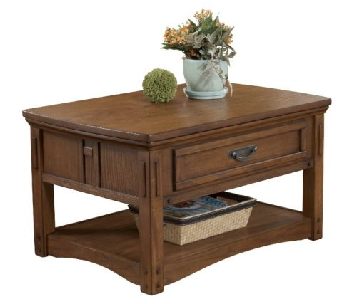 Kalvin Hall Lift Top Tail Table Hom Furniture