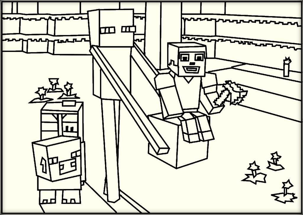 Imagenes Minecraft Para Colorear: Minecraft Coloring Sheets Free Download