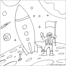 Resultado De Imagen Para Astronauta Dibujo Facil Actividades Espaciales Astronomia Para Ninos Actividades Planetas