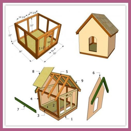 15 Brilliant DIY Dog Houses For Your Furry … | Diy Dog Hou…