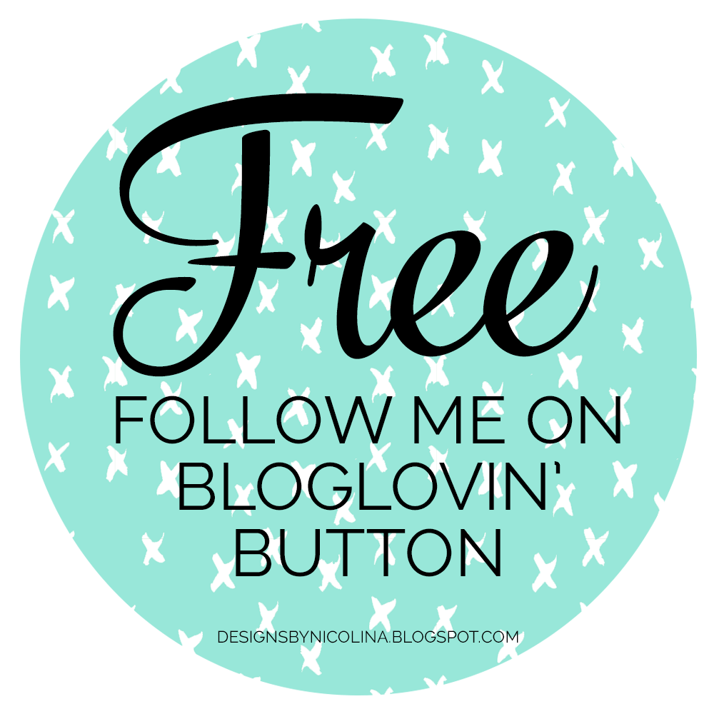 "Free ""Follow Me On Bloglovin' Button"" download"
