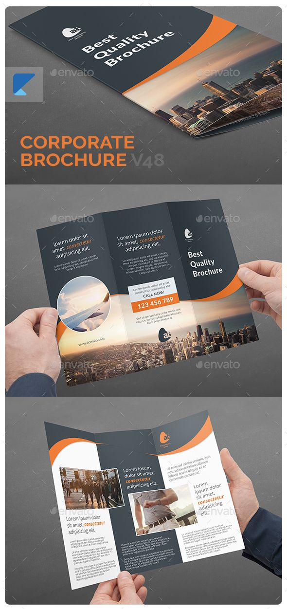 Corporate Brochure V48 Corporate Brochure Brochures And Adobe