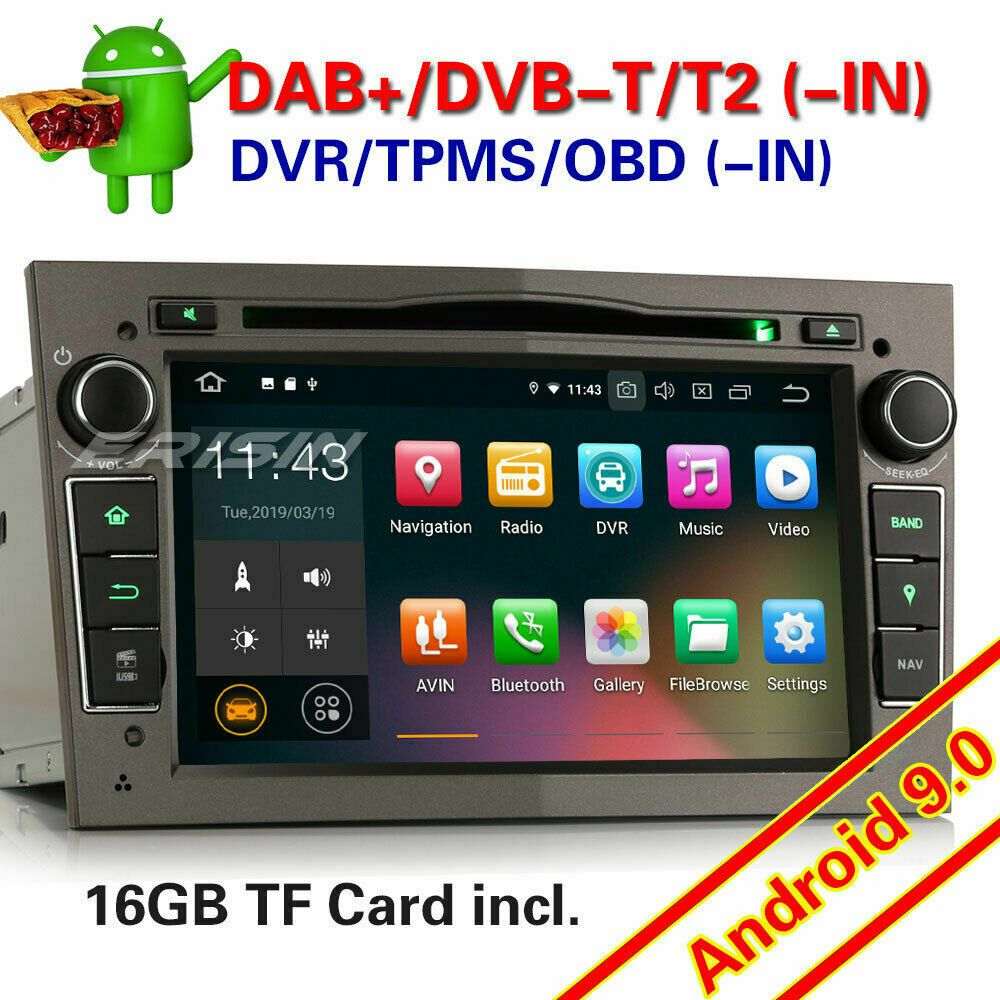 Mp3 Autoradio 9 Opel Android 0 Navi Vauxhall Ebay Angebote YWE9IHeD2