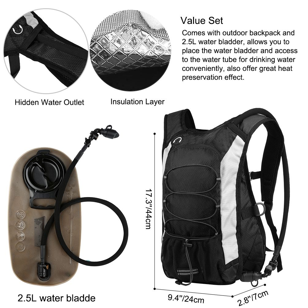 Sports Outdoors Cycling Backpack Hydration Pack Outdoor