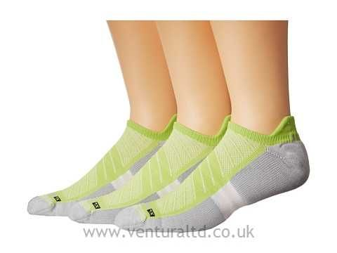 Drymax Sport Max Cushion Run-Packaged No Show Tab 3-Pair Pack Gray Running Socks 8550190