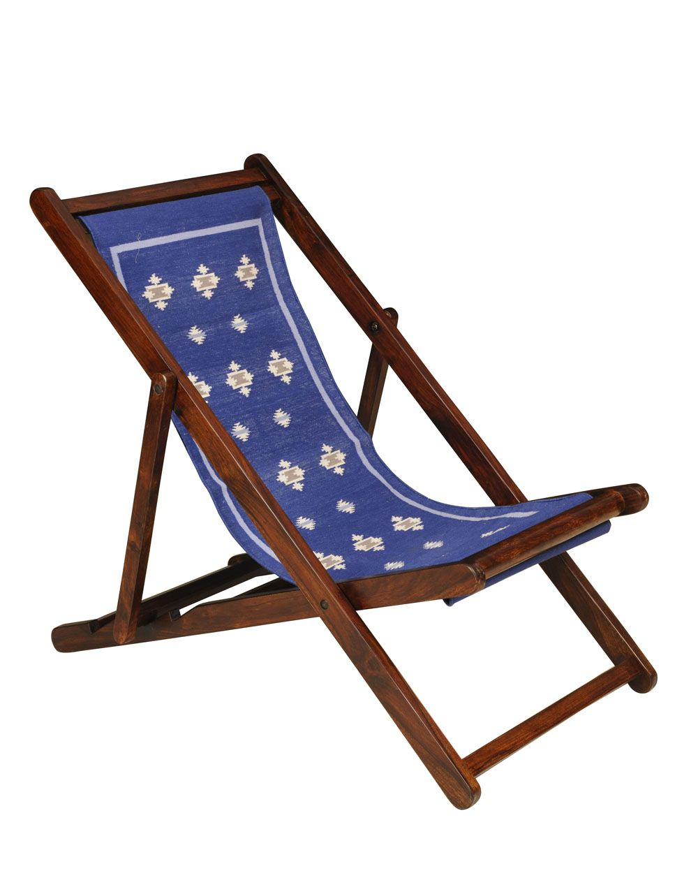 Easy Chair Sheesham Wood 132m x 62cm x 82cm Clean with Dry Cotton