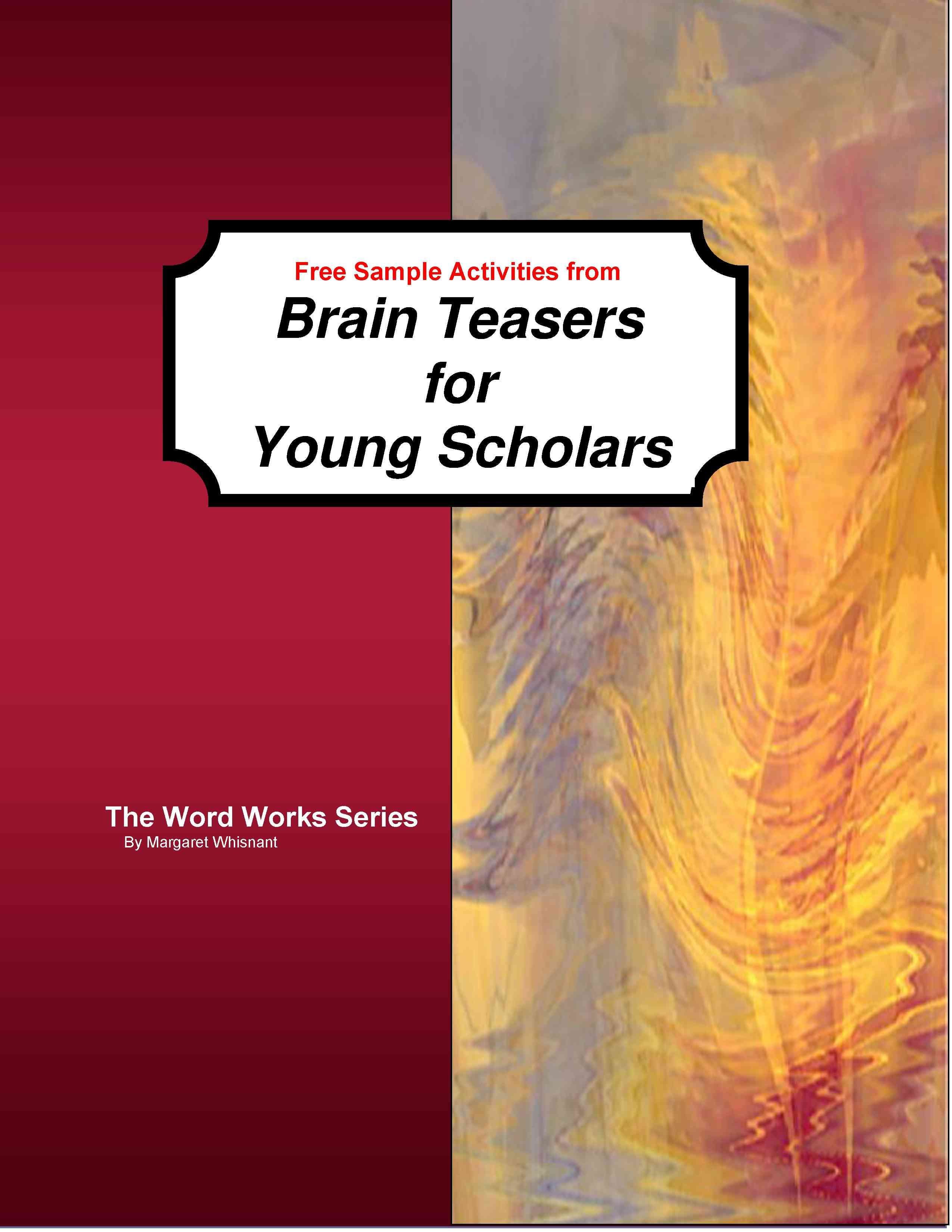 Brain Teasers For Young Scholars Free Download