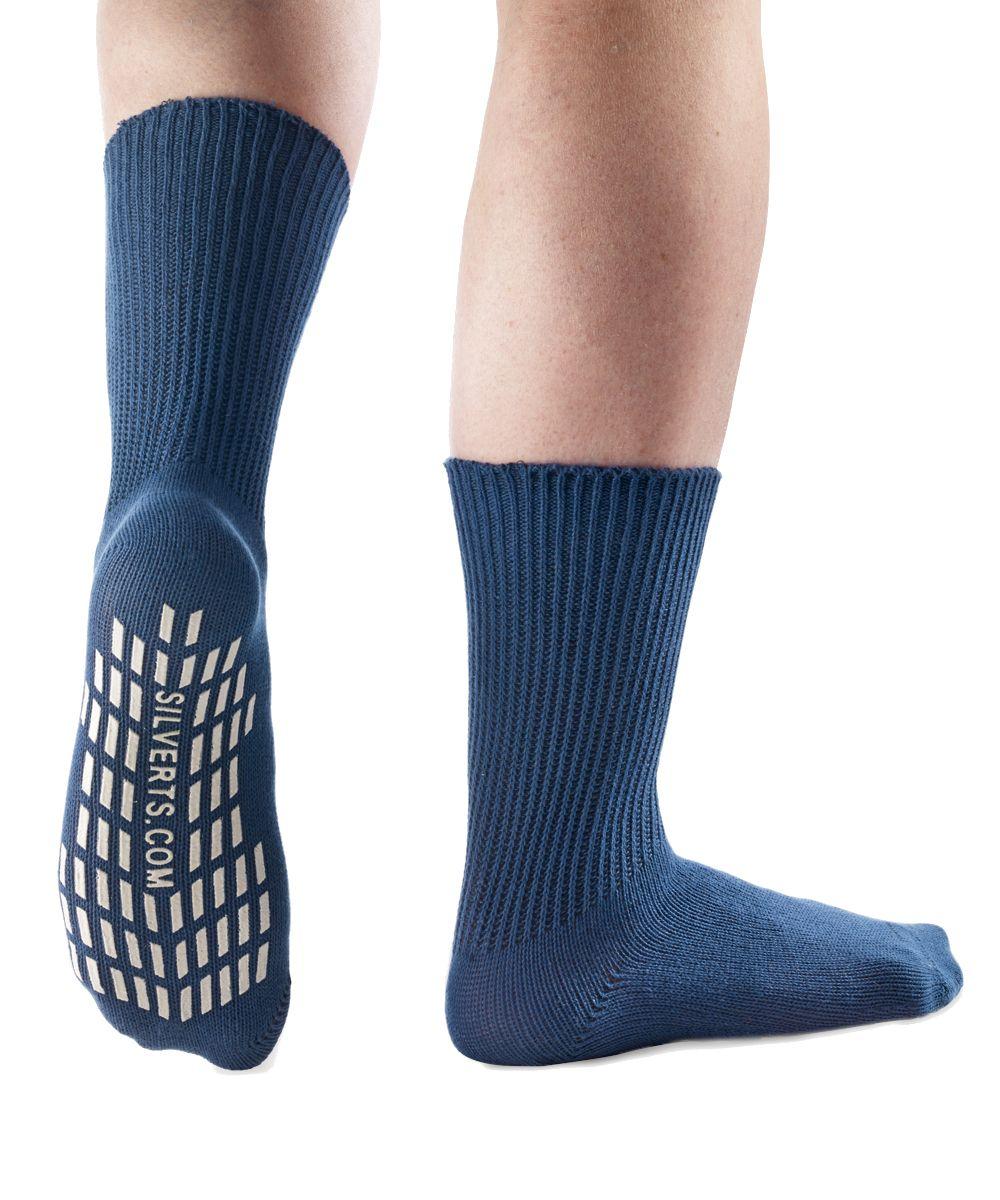 Men's Non Slip Resistant Grip Socks in