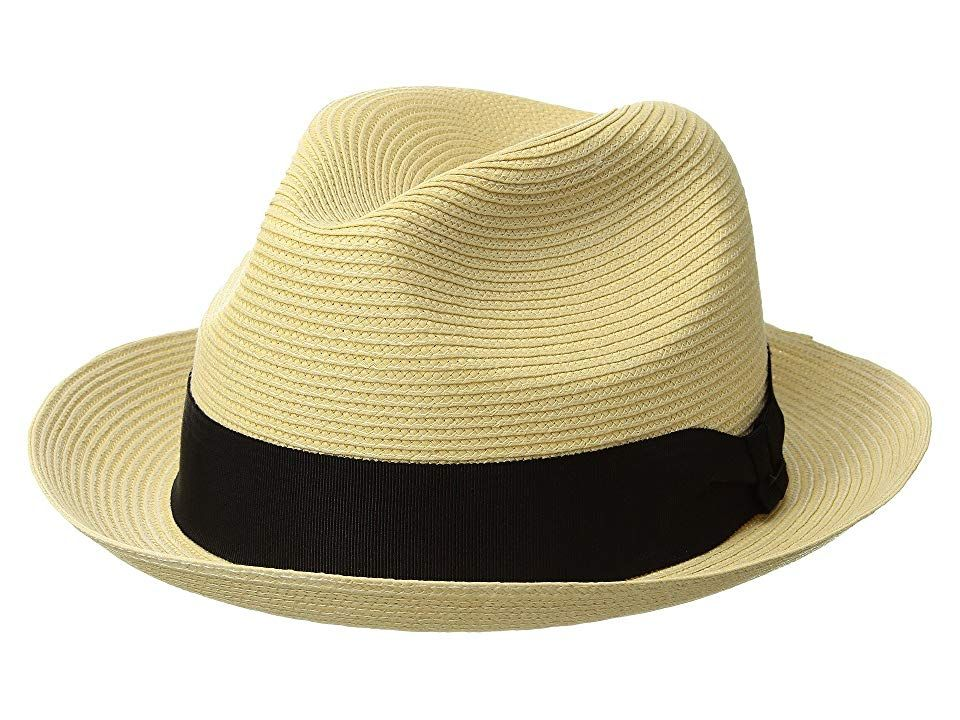 Bailey of Hollywood Mens Craig Braided Fedora Trilby Hat