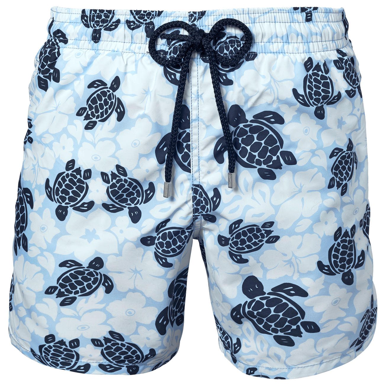 Sea Turtle Pattern Mens Fashion Beach Shorts Surf Yoga Pockets Swimming Shorts