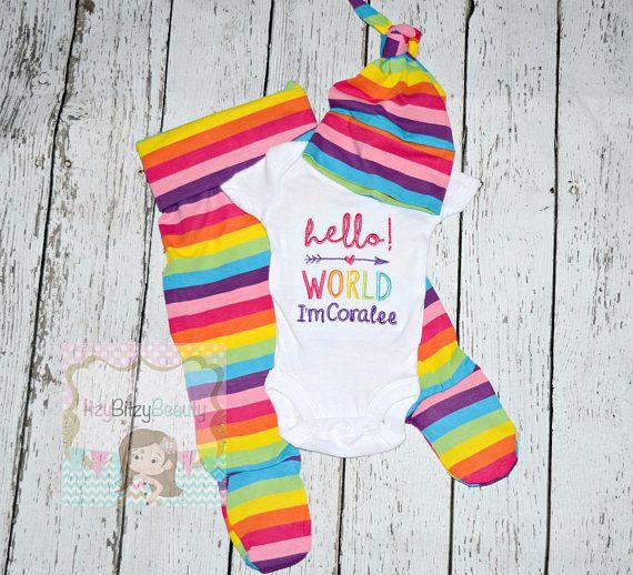 Rainbow baby pants Newborn rainbow baby