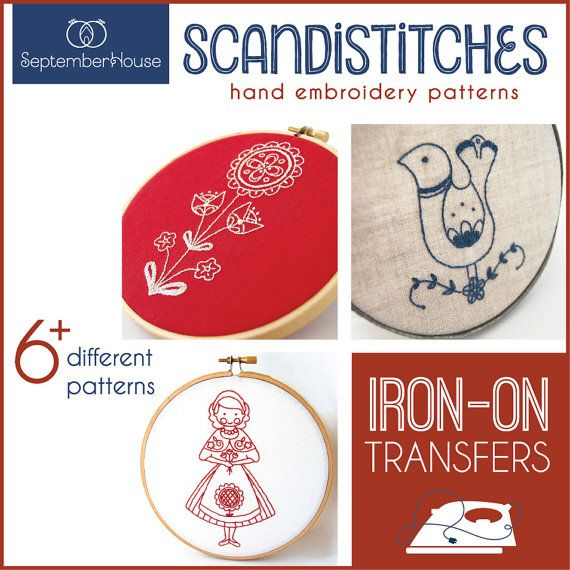 Embroidery Patterns Iron On Transfers Scandistitches Patterns Etsy Scandinavian Embroidery Hand Embroidery Embroidery Patterns