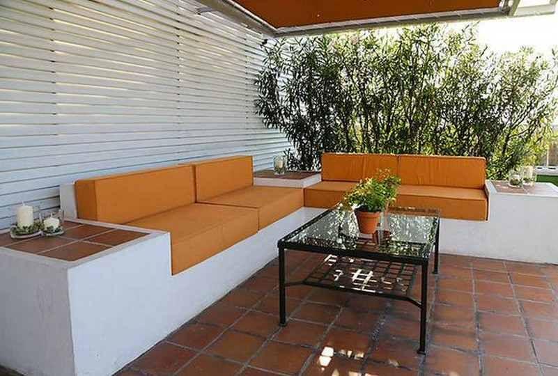 Decoraci n de terrazas jardines pinterest decoraci n for Terrazas para patios pequenos