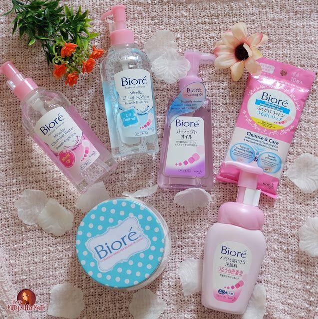 Product Review Biorè Cleansing Line Oil Cotton Facial