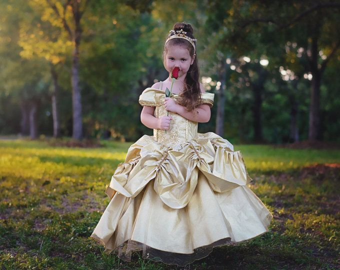 Belle Dress / Disney Princess Dress / Beauty and the Beast Inspired ...