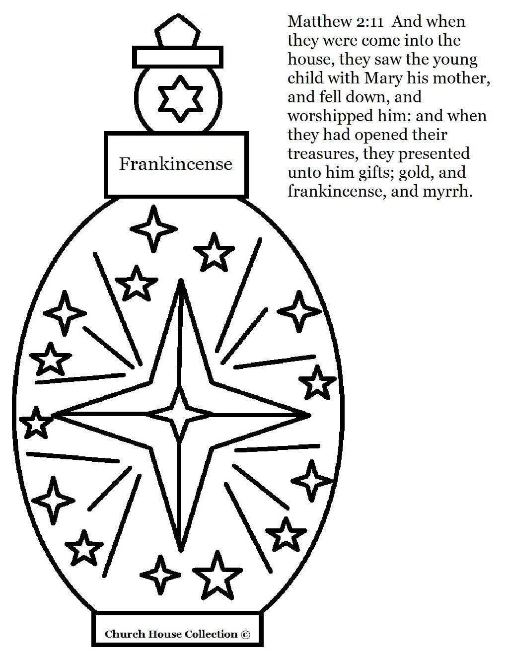 Colouring pages for epiphany - Frankincense Coloring Page Jpg 1 019 1 319 Pixel