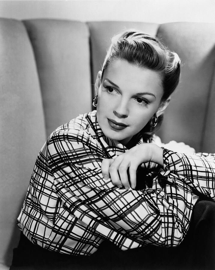 Judy Garland Is The Tomboy Kid Who Lives Next Door Grew Into A