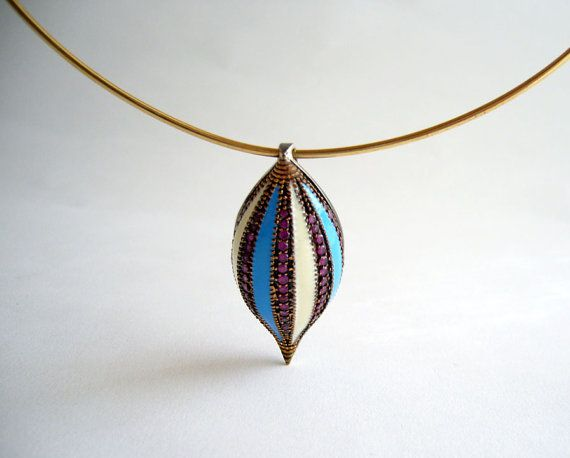 1960s pendant,  Necklace by 20thObsession on Etsy, $450.00