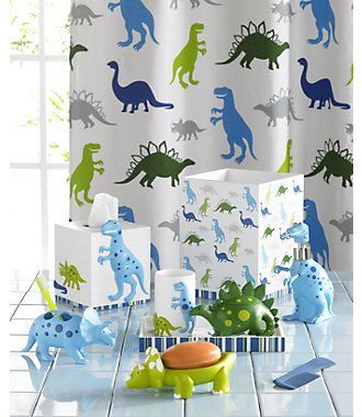 Dino Park Bath Accessories T Rex His Friends Have Arrived To