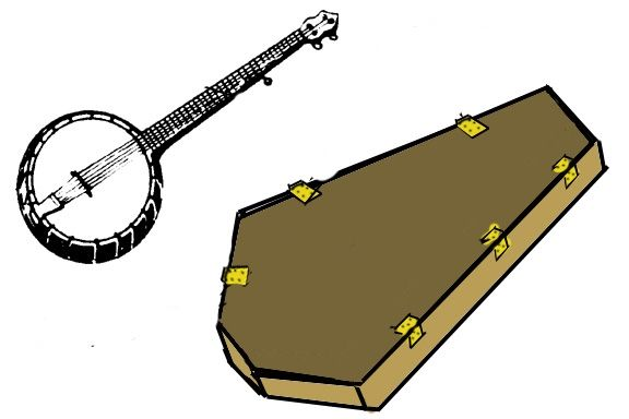 A Diy Banjo Mute Ehow Banjo Case Diy