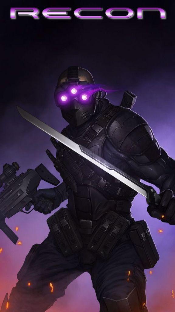 Future sci-fi soldier - ArtStation - Recon scout by Paul Taaks