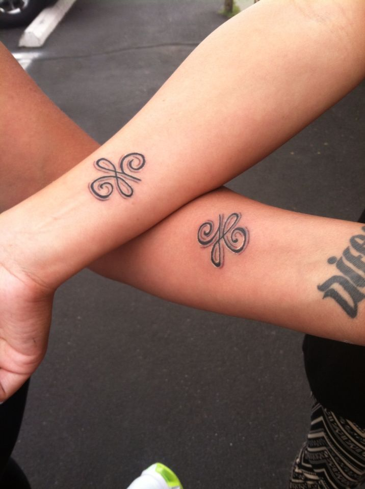 Celtic Symbol For Infinite Loyalty Love And Friendship Ink