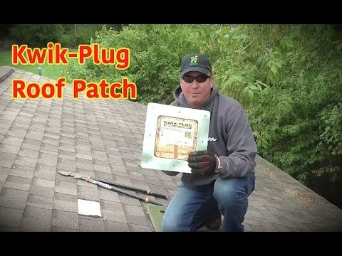 How To Patch Hole In Roof Roof Patch Roof Sealant Roof