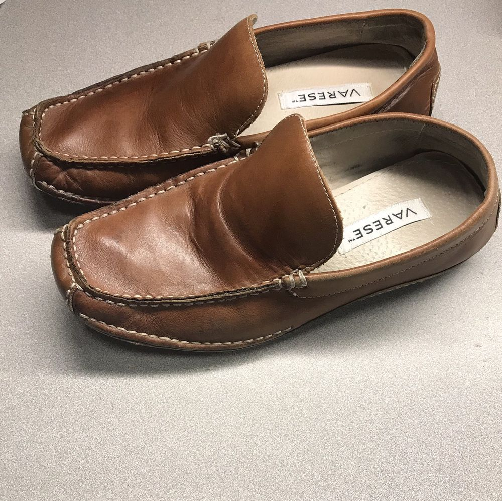 Varese Max Size 8Men's Brown Leather