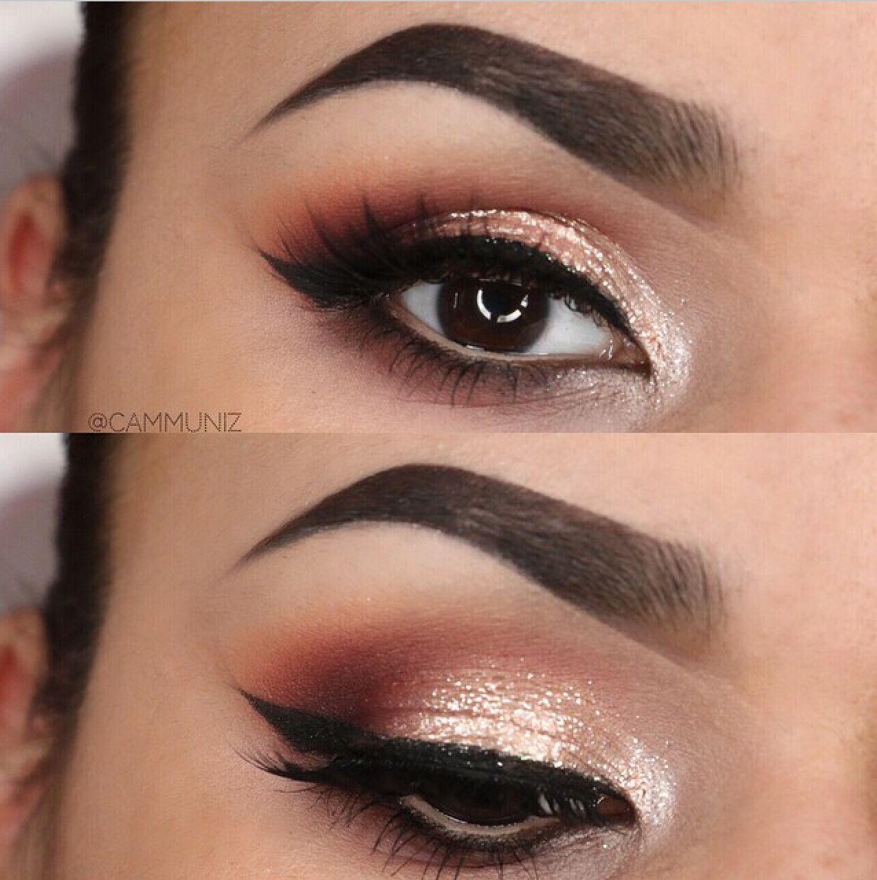 Makeup Glitter Eye Makeup Look Eye Makeup Pinterest Glitter