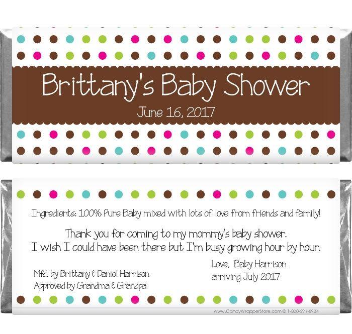 baby shower samples